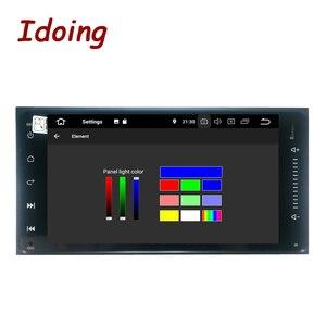 Image 2 - Idoing Radio Multimedia con GPS para coche, Radio con reproductor, Android, DSP 9,0, Universal, 7 pulgadas, compatible con Toyota, 4G + 64G, pantalla IPS completamente táctil
