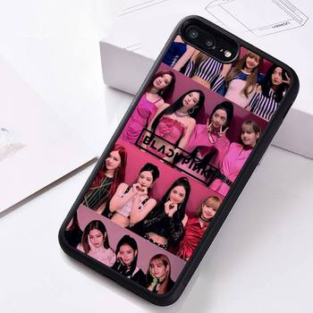 KPOP BLACKPINKS combination Phone Case Rubber for iPhone 12 pro max mini 11 pro XS MAX 8 7 6 6S Plus X 5S SE 2020 XR case 2