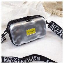 Новая Корейская версия ручной миничемоданчик маленькая дамская сумочка sense slung жесткая оболочка маленькая квадратная сумка коробка