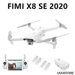 В наличии Xiaomi FIMI X8 SE 2020 8 км FPV с 3-осевым шарниром 4K камера HDR видео GPS 35 минут время полета RC Дрон Квадрокоптер RTF