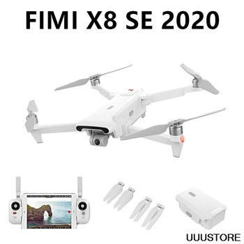 In stock Xiaomi FIMI X8 SE 2020 8KM FPV With 3-axis Gimbal 4K Camera HDR Video GPS 35mins Flight Time RC Drone Quadcopter RTF