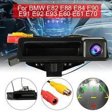 CCD HD Câmera de Visão Traseira do carro Reversa Estacionamento Retrovisor Quarto PARA BMW E60 E61 E70 E71 E72 E82 E88 E84 E90 E91 E92 E93 X1 X5