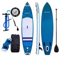 Double layer Surf Board Adjustable Stand Up Paddle Board Inflatable 1000D Brushed Wakeboard Bodyboard Sup Board Surfing SurfBoat
