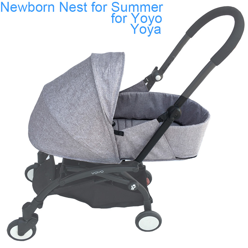 Yoya Baby Stroller Accessories Summer Newborn Nest Sleeping Basket For Babyzen Yoyo