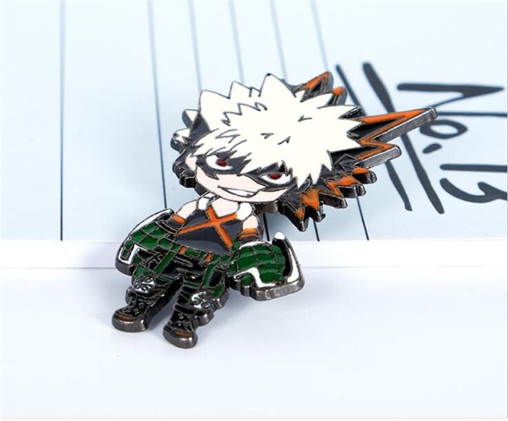 Anime Boku No My Hero Academia Metal Enamel Badge Brooch Chest Pin Fans Gift
