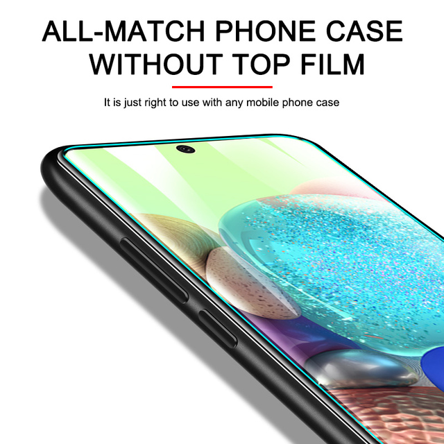 3Pcs Protective Glass On For Samsung A50 A70 A71 A51 Screen Protector Tempered Glass On Samsung A80 A90 A20 A30 A10 A20E Film 3