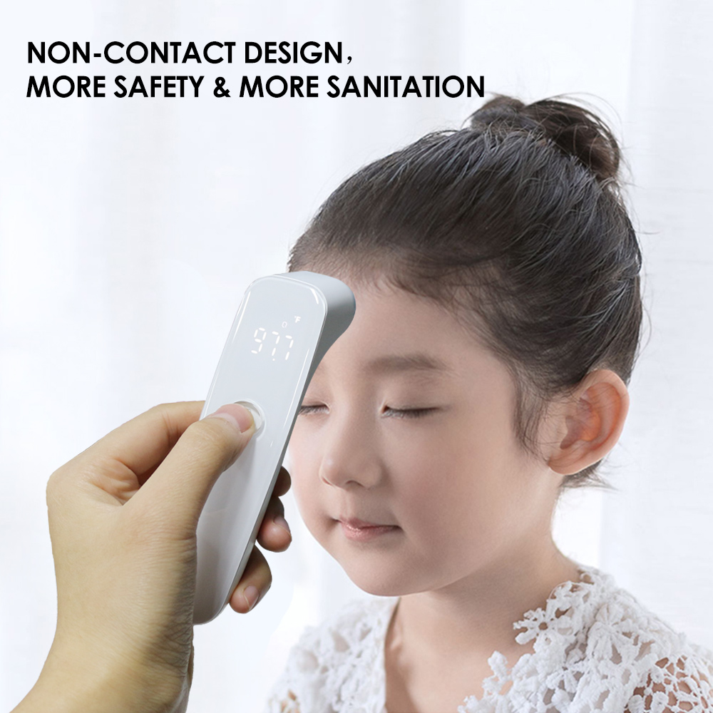Digital IR Infrared LED Full Screen Smart Body Thermometer / 1S Instant Measure Thermometer For Baby Kids And Adults