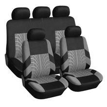 VODOOL чехол для автомобильных сидений, набор универсальных чехлов для автомобильных сидений, защитный чехол для сидений автомобиля