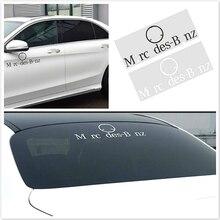 Наклейка на заднее стекло автомобиля для Mercedes W124 W211 W210 W203 W204 W126 W140 W168 W169 W176 W177 W205 W212 W213 W220 W221 W222