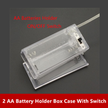 2 AA Battery Holder Box Case With Switch New 2 AA 2A Battery Holder Box Case With Switch Turmera NEW Oct15 2xaa battery holder case box with cover xh2 54 2p cable switch