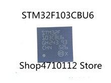 Free Shipping  10PCS/LOT NEW STM32F103CBU6 STM32F103 CBU6 STM32F 103CBU6 QFN-48