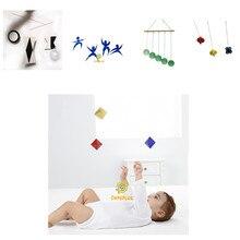 5 conjuntos clássicos montessori celulares sentidos visuais e exercícios de foco brinquedos do bebê 0-12 meses cedo brinquedos educativos para crianças