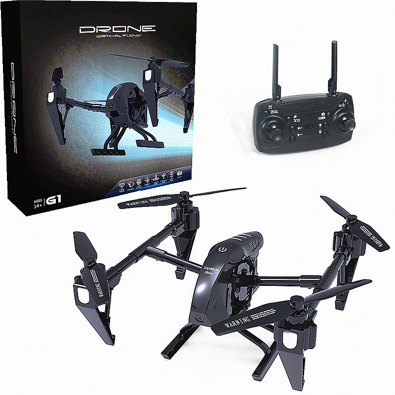 Remote Control Optical Flow Set High Remote Control Alloy Unmanned Aerial Vehicle WiFi High-definition Aerial Photography Image