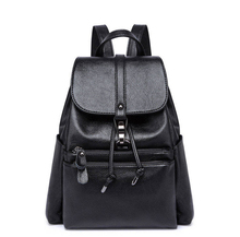 2019 Brand Design Women Casual Backpack Black School Bags For Teenage Girls High Quality Fashion Travel Tote Backpack все цены