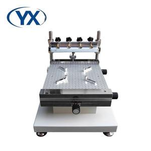 Image 1 - SMT üretim YX3040 PCB SMT şablon yazıcı SMT ekran baskı (300*400mm)