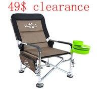 Apuramento! Bc billal maneiras ao ar livre dobrável lounge cadeira de pesca cadeira praia fácil transportar para acampamento frete grátis