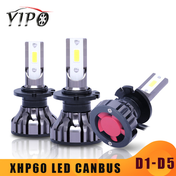 цена на headlight led D2S D2C D5S D1S D3S D4S D2R D2 led car light bulb D1 D series universal CANBUS headlight kit 72W 12V 6000LM 6500K