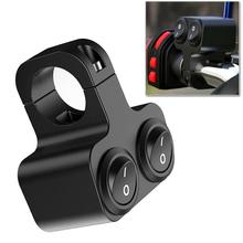 Headlight Horn Switch Handlebar Motorbike-Accessories Dual-Buttons ATV 12V