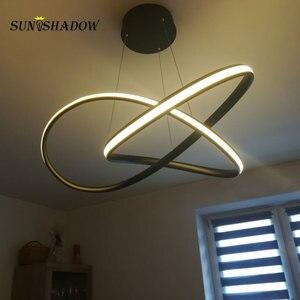 Image 5 - โมเดิร์นโคมไฟระย้า LED สำหรับห้องนั่งเล่นห้องนอนห้องนอนโคมไฟพื้นผิว LED โคมระย้าโคมไฟแขวนโคมไฟ