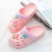 Оригинальные садовые Вьетнамки; быстросохнущая водонепроницаемая обувь; женские прозрачные спортивные летние пляжные шлепанцы; прогулочные сандалии; обувь AP Palmer