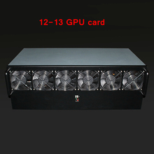 Crypto Miner Case Asic Bitcoin USB Miner Rackmount PC Server Mining Rig Open Frame For RX 470 480 570 12 Or 13 GTX1080 GPU Card