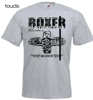 Boxer Motorcycle Engine Motorrad Racing T-Shirt Fashion 2019 Crew Neck Men Short-Sleeve Casual Tee Shirt - discount item  8% OFF Tops & Tees