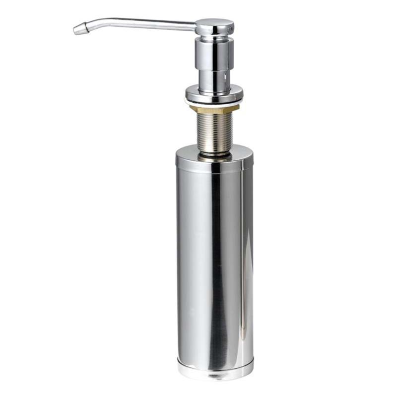 Built In Sink Soap Dispenser For Kitchen Sink Stainless Steel Lotion Dispenser Q1QC
