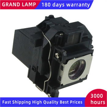ELPLP57 Compatible lamp with housing  for Epson EB-440W EB-450W EB-450WI EB-455WI EB-460 projectors GRAND elplp60 v13h010l original projector lamp with housing for epson eb 420 eb 425w eb 900 eb 905 eb 93 eb 93e eb 95