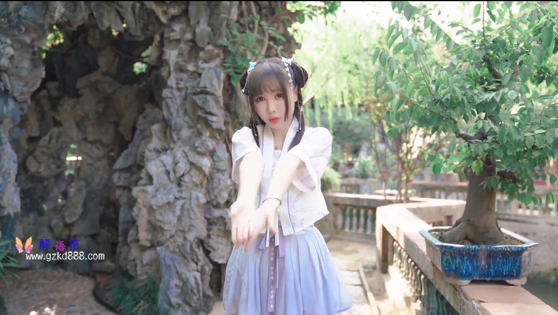 美少女up主@いとう哀 仙女裙 自唱自跳古风舞《花开一片》_图片 No.8