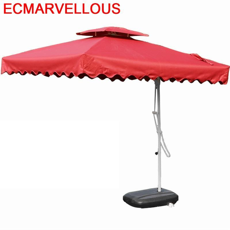 Da Giardino Parasol Ogrodowy Tuinset Tuinmeubel Ikayaa Pergola Garden Mueble De Jardin Patio Furniture Outdoor Umbrella Set