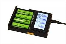 S4 lcd carregador de bateria dc12v 2a saída 4.35 v 4.2 v 3.6 v carregador para 18650 26650 17650 14650 12650 aa aaa li-ion nimh Li-FePO4