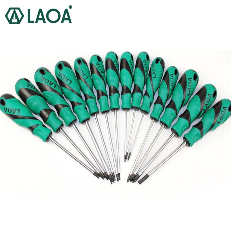 LAOA 14pcs Screwdriver Set Special-shaped screwdriver Tool Triangular T- shape Y-shapescrewdriver