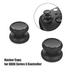 2pcs 실리콘 엄지 그립 스틱 커버 제기 아날로그 엄지 스틱 그립 커버 캡 컨트롤러 Gamepad Xbox 시리즈 S X