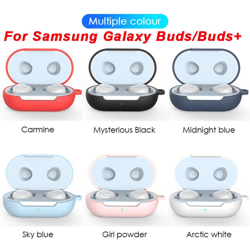 For Samsung Galaxy Buds Plus Case All Compatible Soft Silicone Cover For Galaxy Buds + 2020 Shell Fits Perfectly Charging Case