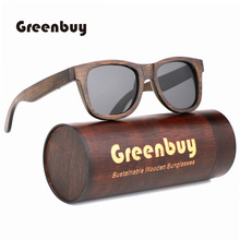 Sustainable and environmentally friendly bamboo sunglasses polarized protection mens sunglasses global hot sunglasses women