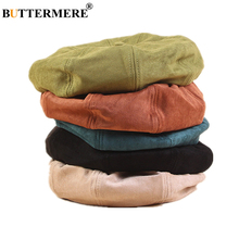 BUTTERMERE Berets Caps for Women Suede Female Winter Hat Solid Casual Octagonal Cap Vintage 2019 New Arrival Women Hat autumn winter casual classic children hat solid color vintage octagonal berets cap round soft comfortable woolen hat for girls