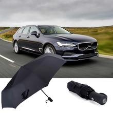 For VOLVO S40 V60 XC40 60 90 S60 90 V60 90 Popular Automatic Business Umbrella Portable MINI One-Click Open Car Logo Umbrella