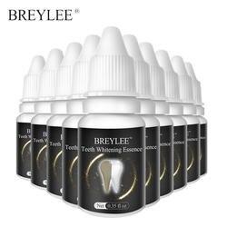 BREYLEE отбеливающая пудра с эссенцией гигиены полости рта Очищающая сыворотка удаляет пятна зубов Белый уход за зубами стоматологические
