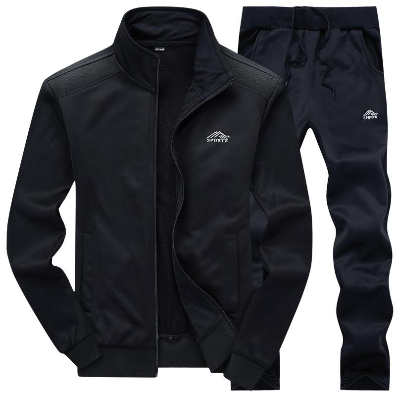 OLOEY Tracksuit Men Set Spring Sportswear Sweatsuit Long Sleeve Male Sweat Track Suit Sweatshirt & Pants Casual Sporting Suits