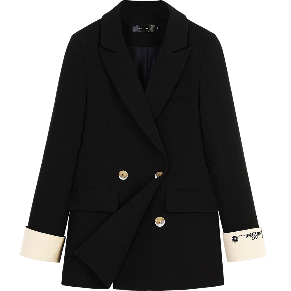 Plus size M-5XL loose high-end women's blazer 2020 spring and autumn new embroidered ladies jacket Professional small suit