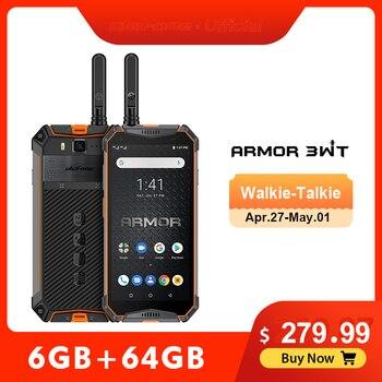 Перейти на Алиэкспресс и купить Смартфон Ulefone Armor 3WT, прочный мобильный телефон, 2,4G/5g, Wi-Fi, Android 9,0, 6 ГБ 64 ГБ, 10300 мАч, nfc, 4G