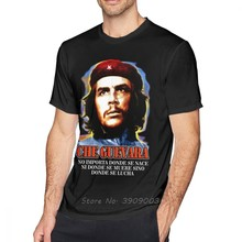 Maglietta Che Guevara maglietta Che Guevara maglietta divertente da uomo stampa maglietta da spiaggia in cotone a maniche corte a maniche corte