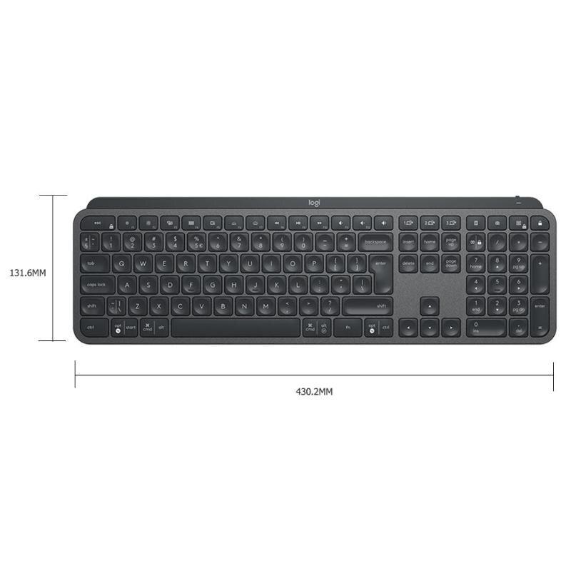 Logitech teclado resistente ao desgaste sólido logitech