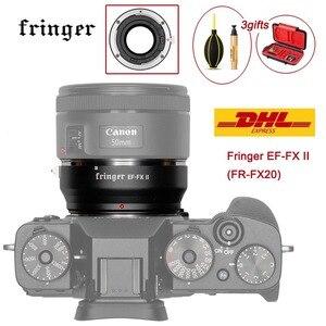 Image 1 - Fringer EF FX השני FR FX20 עדשת מתאם פוקוס אוטומטי עבור Canon EF עדשה כדי Fujifilm הר עבור Fujifilm X E EF FX2 פרו x H X T X PRO