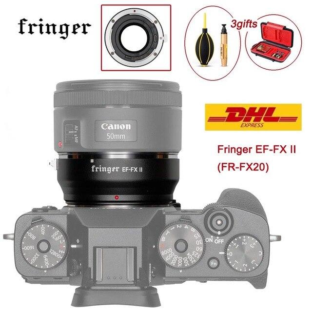 Fringer EF FX השני FR FX20 עדשת מתאם פוקוס אוטומטי עבור Canon EF עדשה כדי Fujifilm הר עבור Fujifilm X E EF FX2 פרו x H X T X PRO