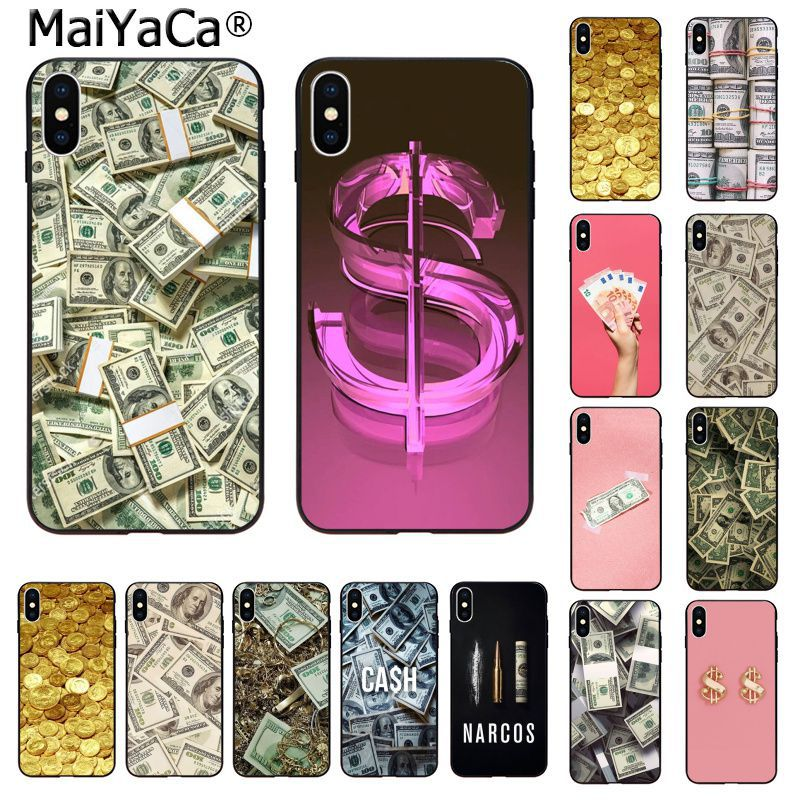 MaiYaCa Money <font><b>Dollar</b></font> Rouble Pound TPU Silicone <font><b>Phone</b></font> Case Cover for Apple iphone 11 pro 8 7 66S Plus X XS MAX 5S SE XR fundas image
