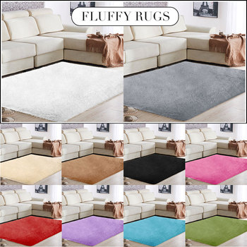 Carpet Floor Multicolored Home Area Rug Fluffy Rugs 160x230cm Polyester Fiber Mat Bedroom Living Room Decoration Sofa