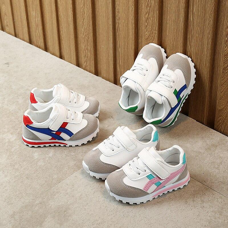 Çocuk ayakkabı bebek ayakkabı çocuk spor ayakkabı erkek kız bebek yürüyor çocuk Flats Sneakers moda rahat bebek yumuşak ayakkabı