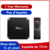 X96 mini Smart TV Box Android9.0 X96mini 4K Android TV BOX Amlogic S905W Quad Core supporto WiFi M3U Netflix Media Player