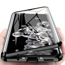 Magnetische Adsorption Metall Telefon Fall Für Huawei Mate 40 30 20 P40 P30 P20 Pro Ehre 30s 30 20 20i X10 9X 8X Nova 7 SE Fall Abdeckung